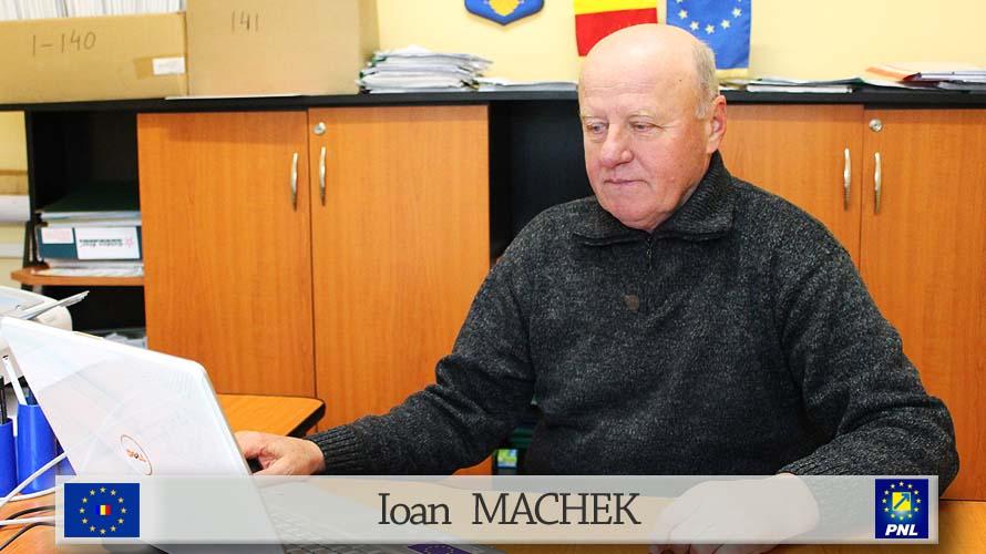 Ioan Macheck viceprimar