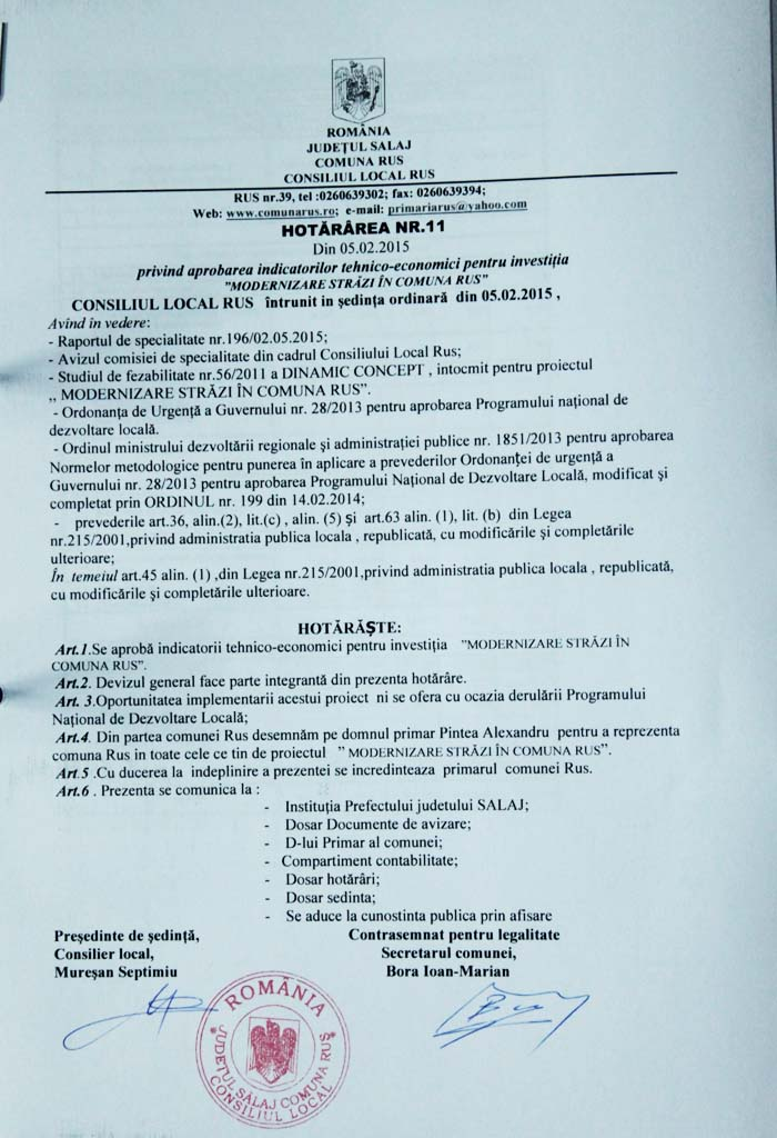 Rus-Hotararea nr11-2015