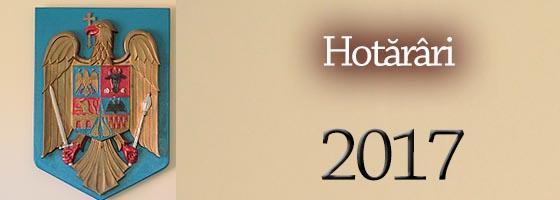 Cons local Hotarari 2017